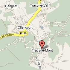 Plan de Tracy le Mont